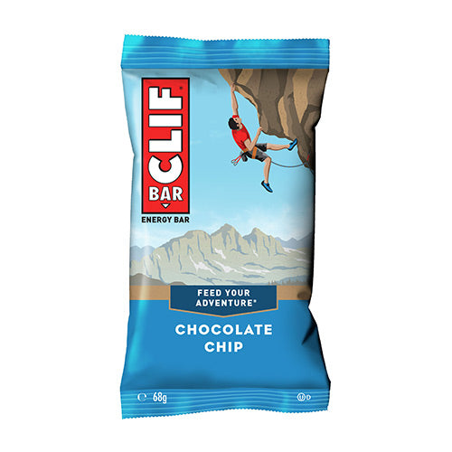 Clif Bar Flavour: Chocolate Chip Individual Bar