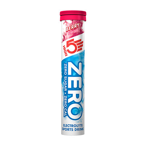 High 5 Zero Electrolyte Drink Tablets Flavour: Berry (Single tube)