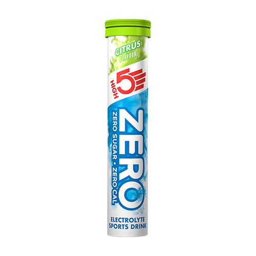 High 5 Zero Electrolyte Drink Tablets Flavour: Citrus (Single tube)