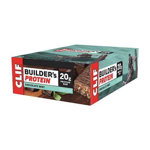 Clif Builder's Bars (Box x12) Flavour: Chocolate Mint