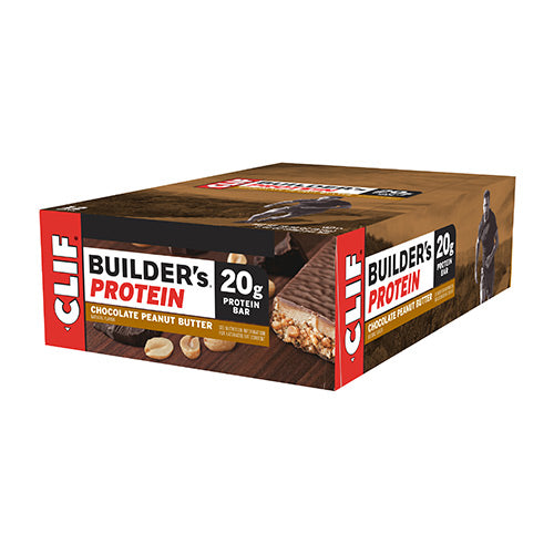 Clif Builder's Bar (Box x12) Flavour: Chocolate Peanut Butter