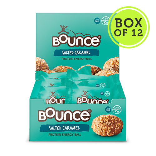 Bounce Salted Caramel Protein Balls - Box of 12