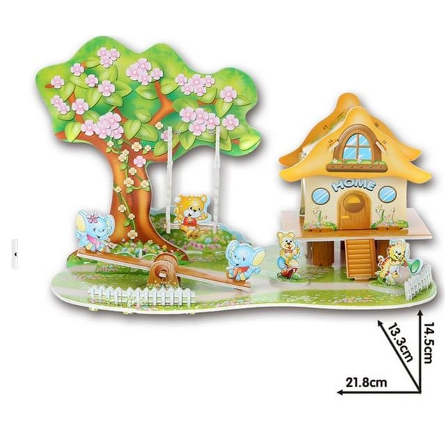 3D Puzzle - Swing House