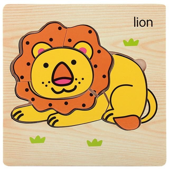 Animal Training Puzzle - Lion