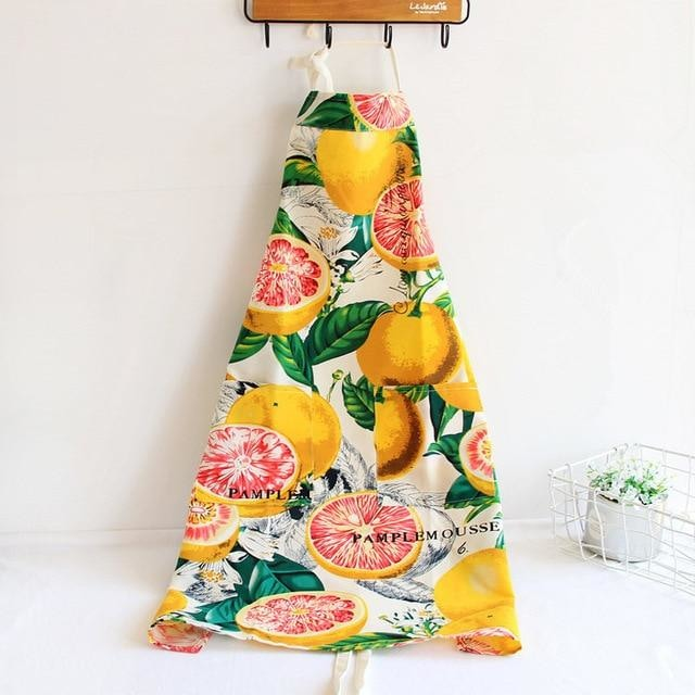 Apron for Adults & Kids - Grapefruit / S