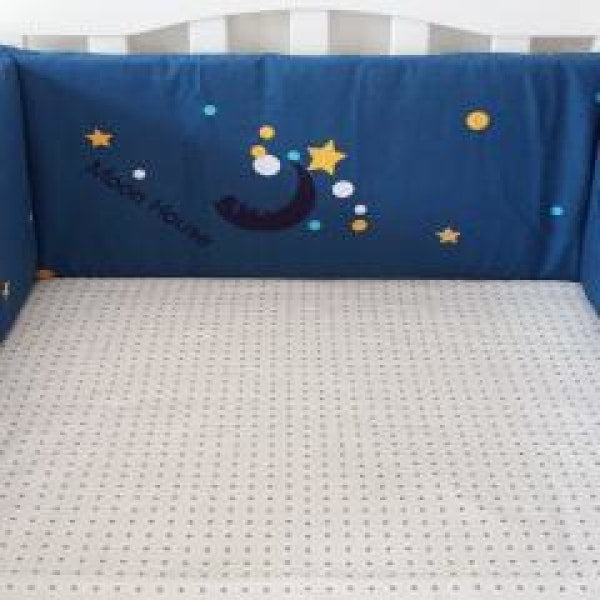 Baby Bed Bumper - Moon Square