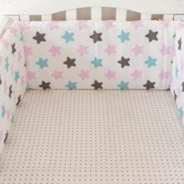 Baby Bed Bumper - Star Space