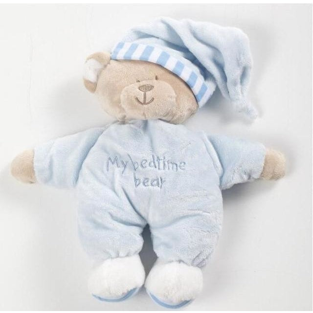 Bedtime Teddy Bear Cuddly Toy - Blue