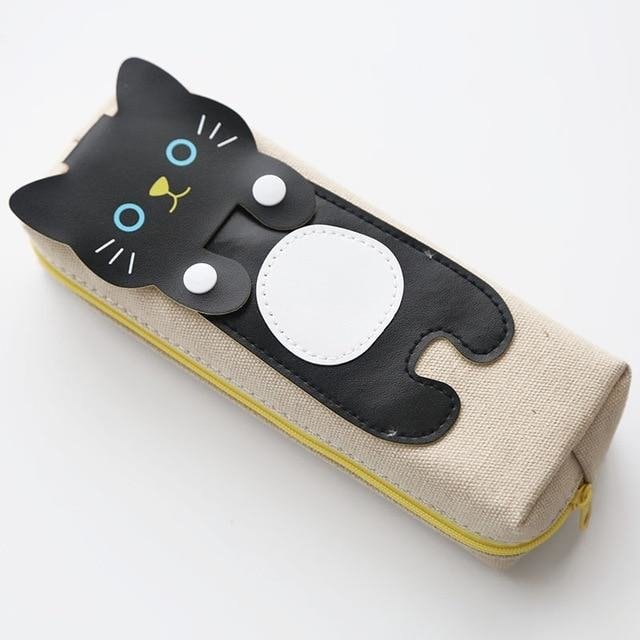Cats Pen Bags - Black