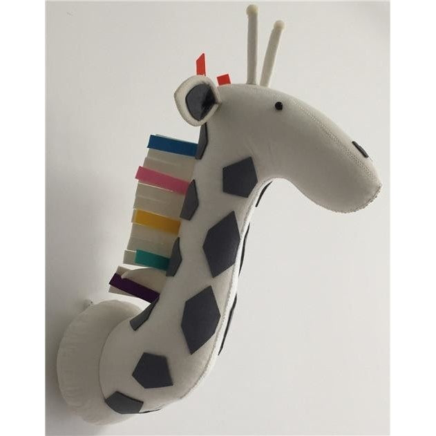 Colorful Giraffe Head Wall Decoration