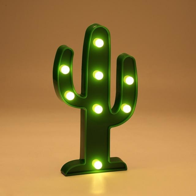 Decorative LED Lamps - Cactus / China