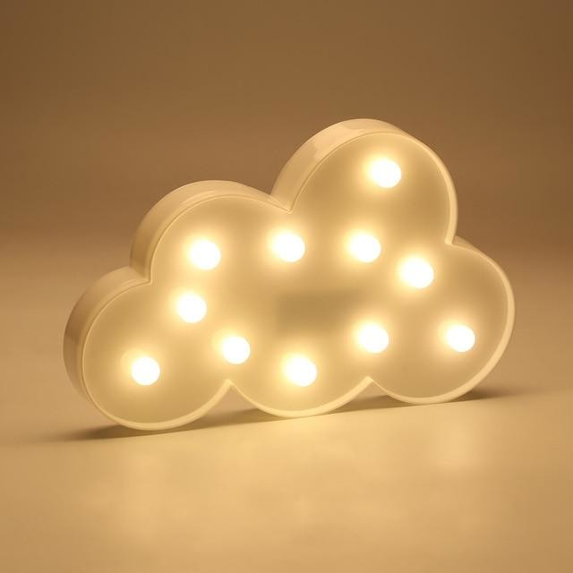 Decorative LED Lamps - Clouds / China