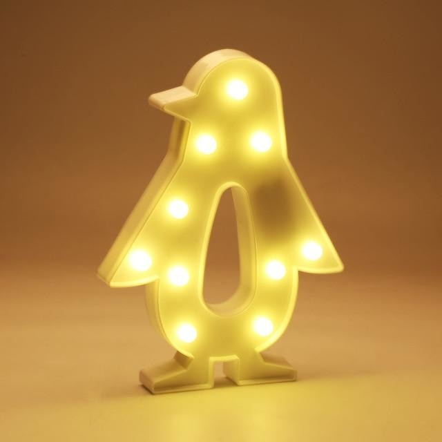 Decorative LED Lamps - Penguin / China