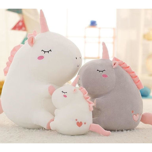 Fat Unicorn Plush Toy