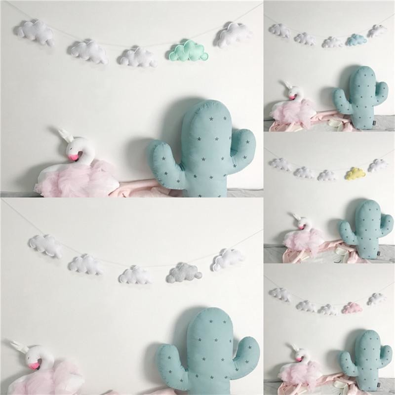 Felt Cloud Garland
