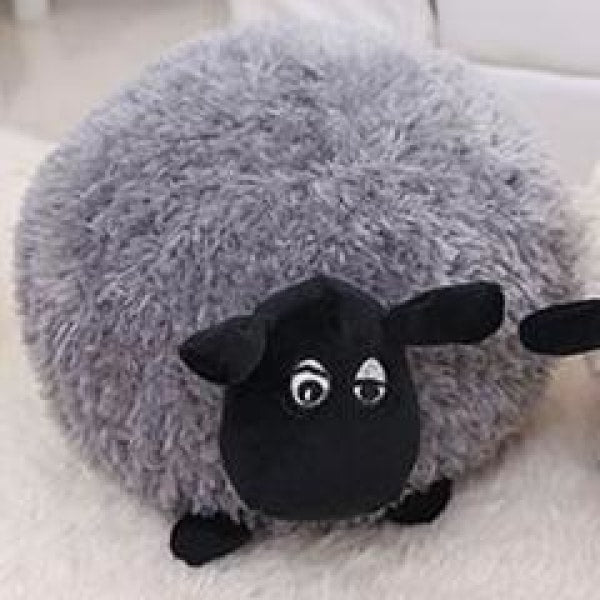 Funny Cute Sheep Pillow - 20cm / Gray