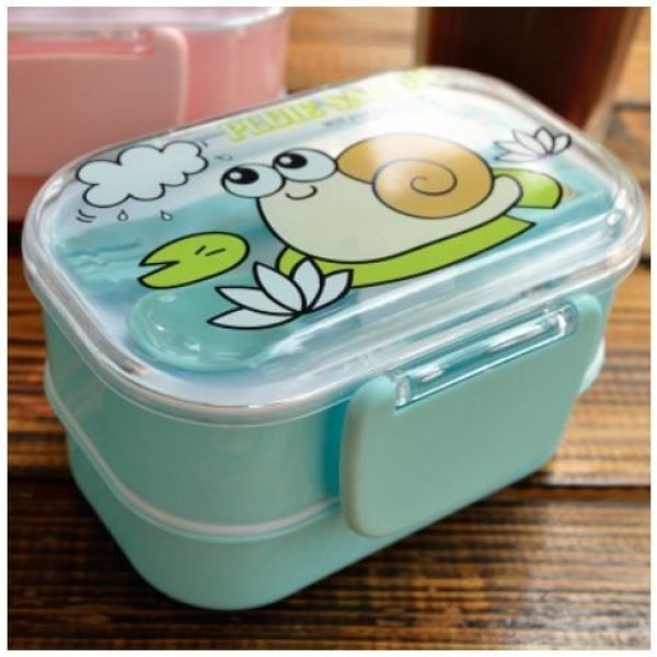 Kids Eco-Friendly Lunchbox - Blue