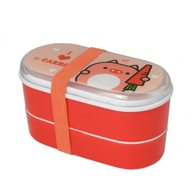 Kids Eco-Friendly Lunchbox - Red