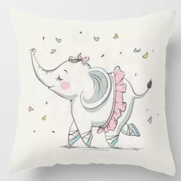 Lovely Animals Pillow Case - I / 45x45cm Just Cover
