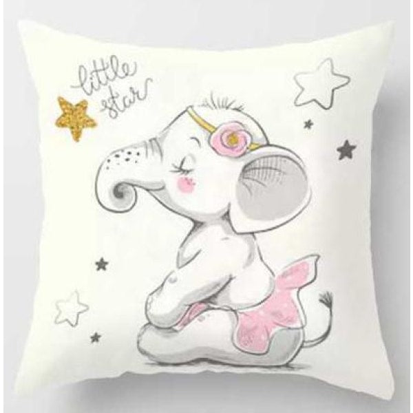 Lovely Animals Pillow Case - L / 45x45cm Just Cover