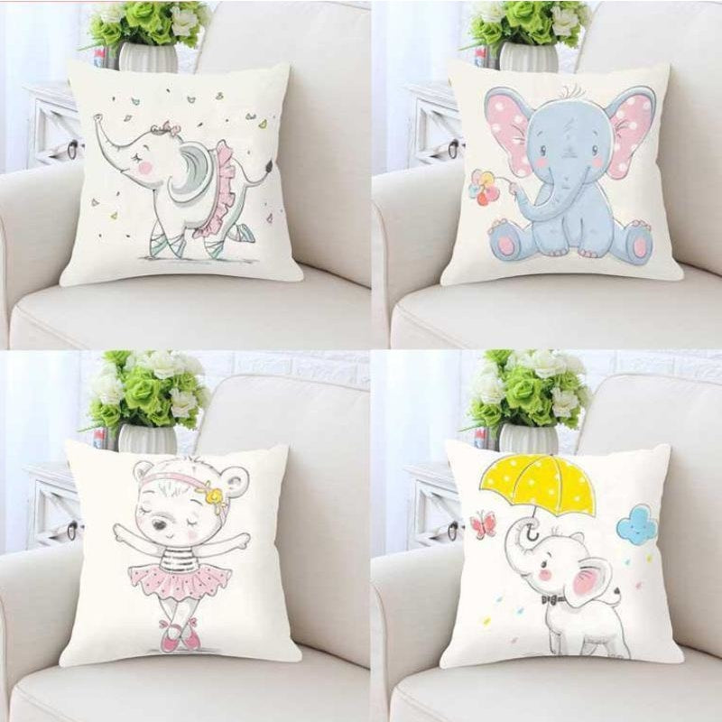 Lovely Animals Pillow Case