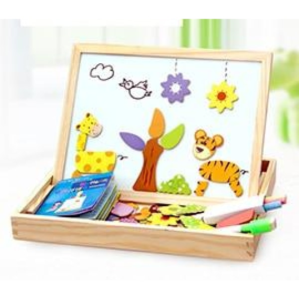 Magnetic Board Puzzle - Animals