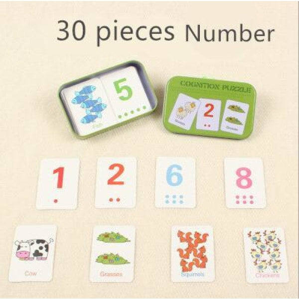 Match Card Puzzle - MG66 Number