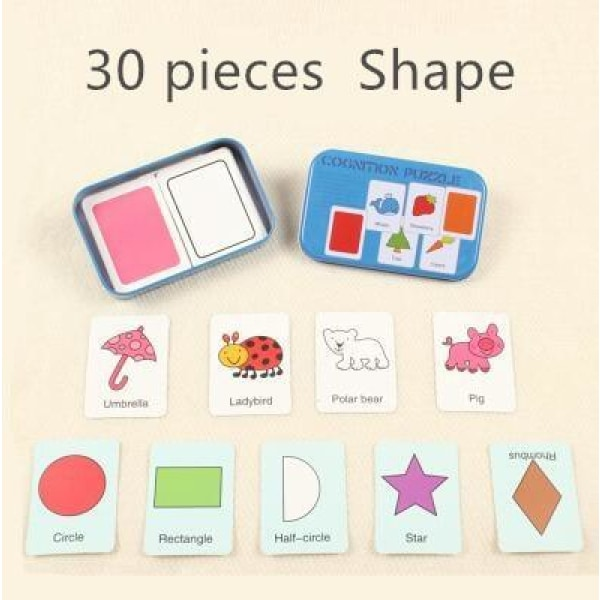 Match Card Puzzle - MG66 Shape
