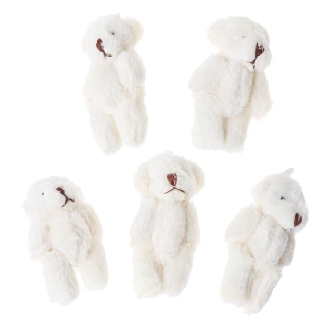Mini Teddy Bear - White