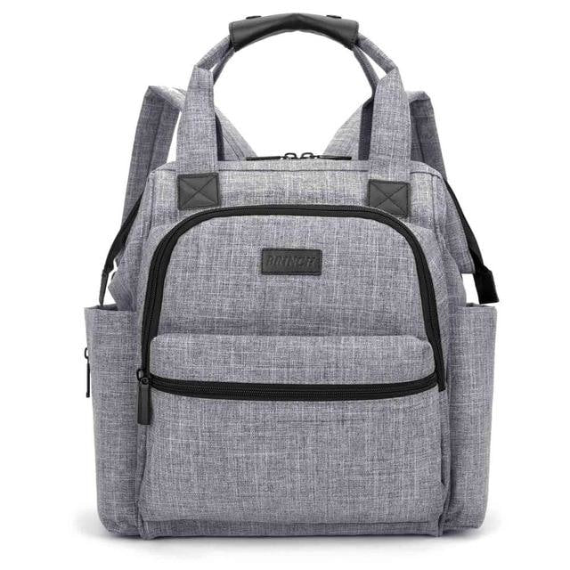 Nappy Backpack - Gray