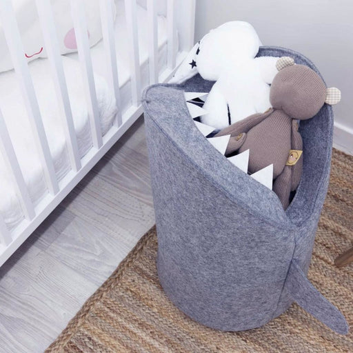 Open-mouthed Shark Laundry Basket