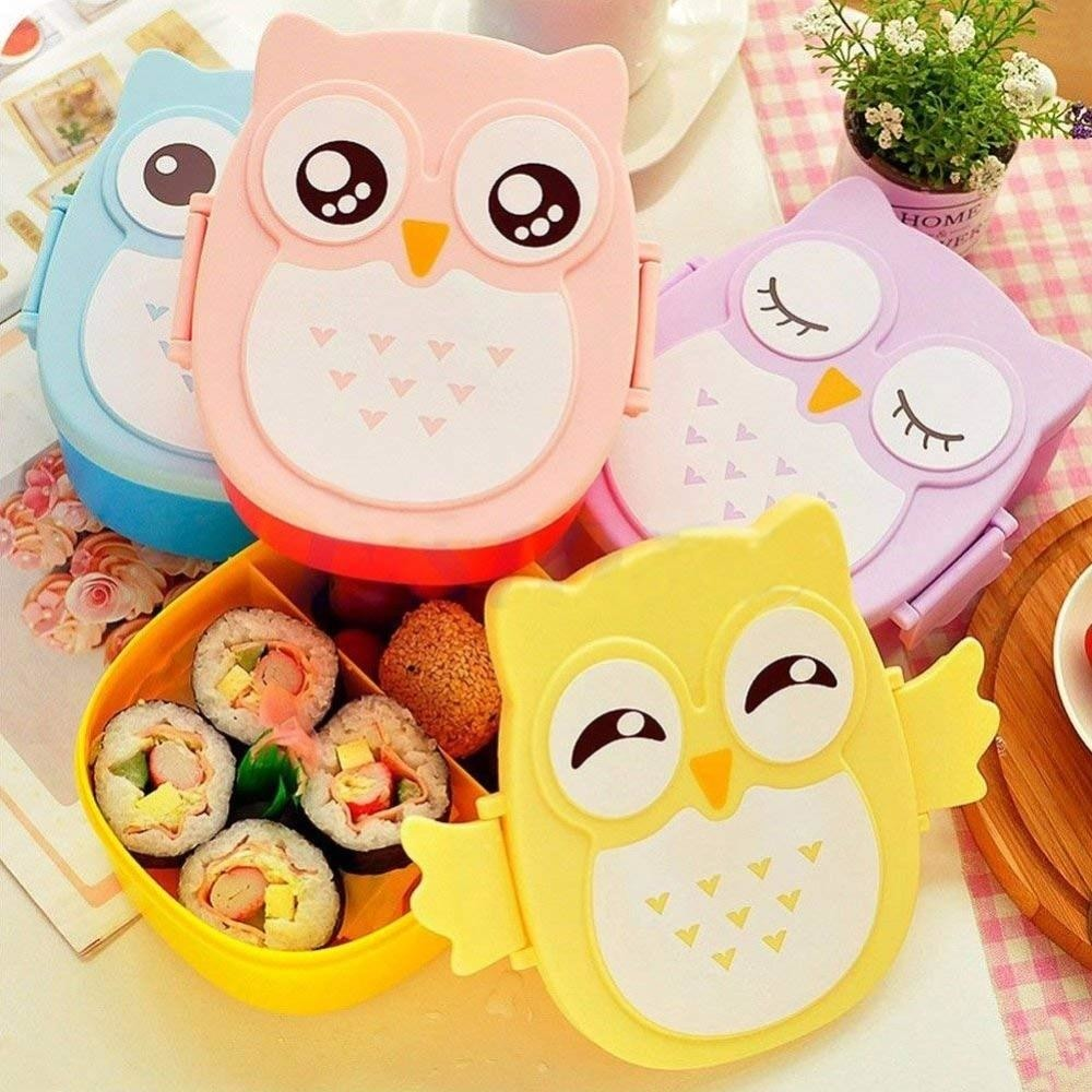 Owl Shaped Bento