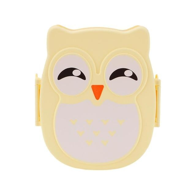 Owl Shaped Bento - Yellow