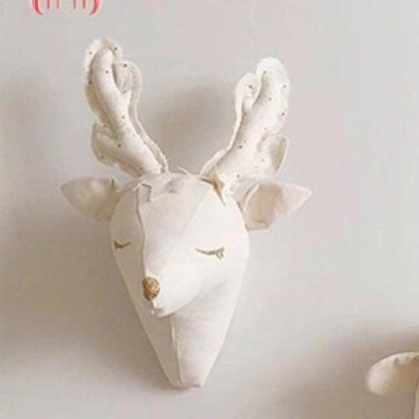 Reindeer Head Wall Decoration