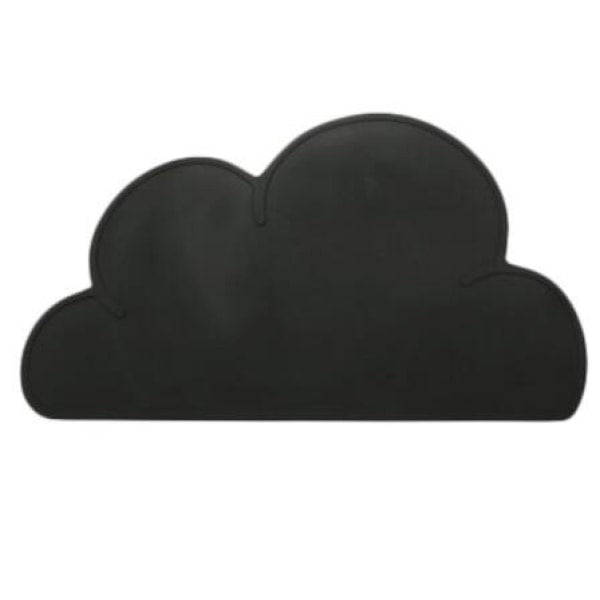 Silicone Cloud Placemat - Black