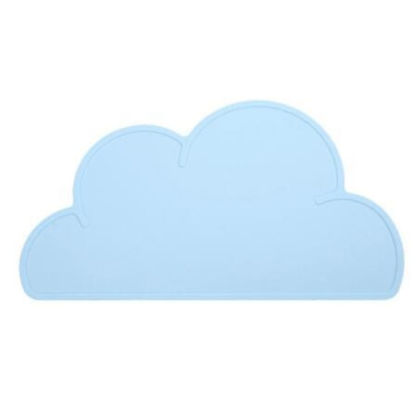Silicone Cloud Placemat - Blue