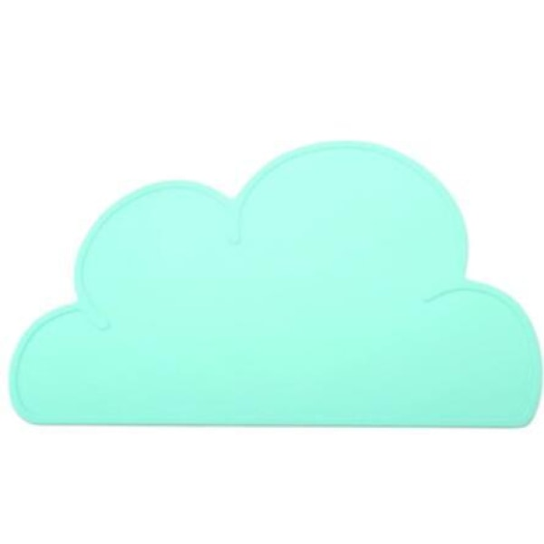 Silicone Cloud Placemat - Green