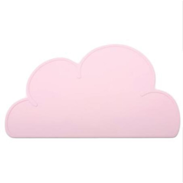Silicone Cloud Placemat - Pink