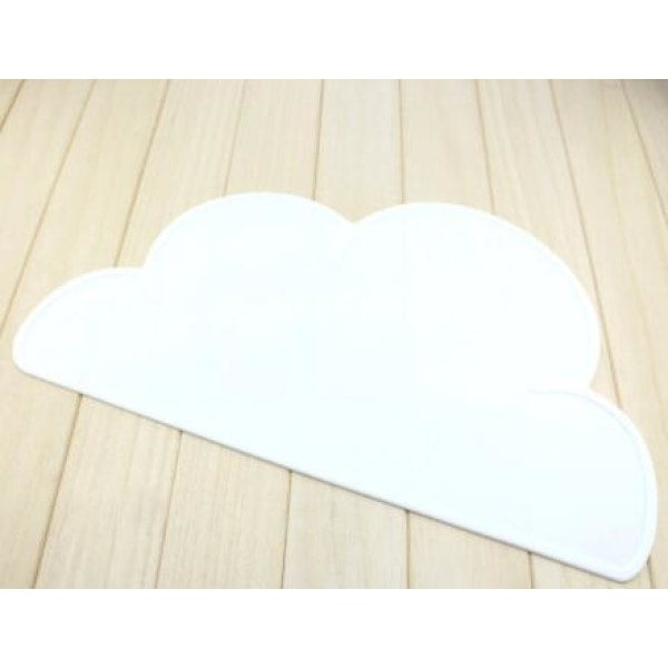 Silicone Cloud Placemat - White