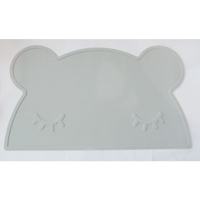 Silicone Funny Shape Placemat - Bear Grey