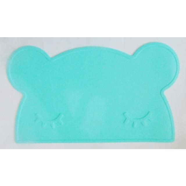 Silicone Funny Shape Placemat - Bear Mint