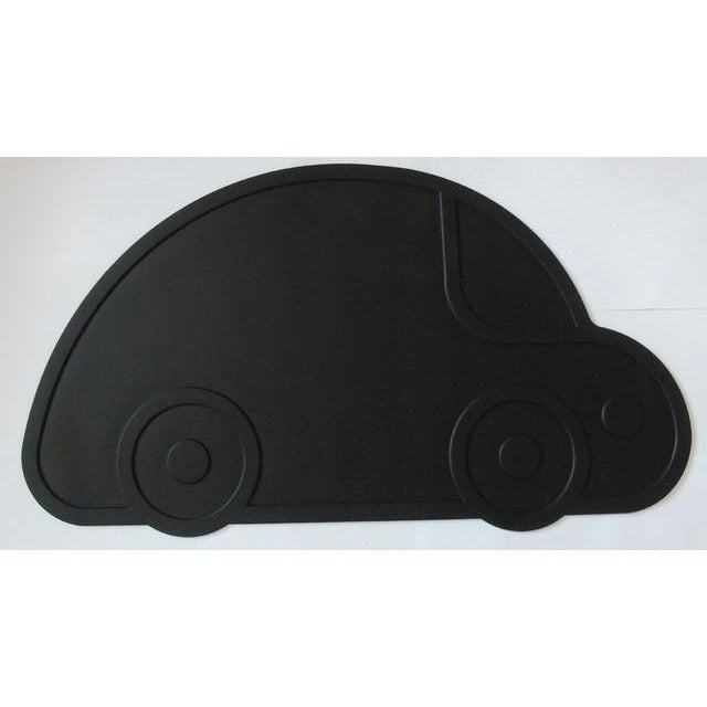 Silicone Funny Shape Placemat - Car Black