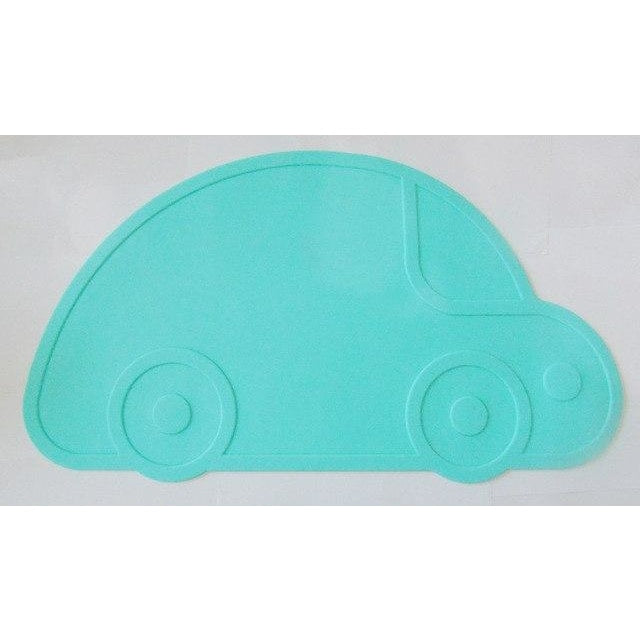 Silicone Funny Shape Placemat - Car Mint