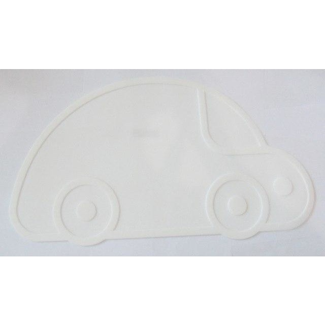 Silicone Funny Shape Placemat - Car White