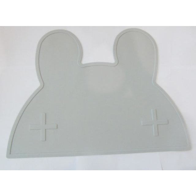 Silicone Funny Shape Placemat - Rabbit Grey