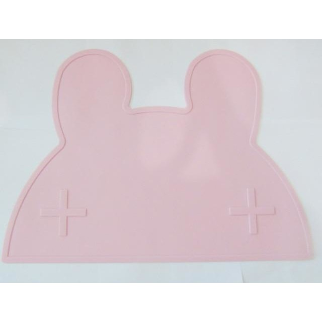 Silicone Funny Shape Placemat - Rabbit Pink