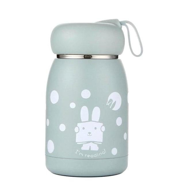 Stainless Steel Thermos Bottle - 350ml / Blue