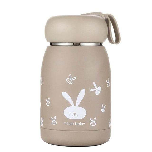 Stainless Steel Thermos Bottle - 350ml / Coffee