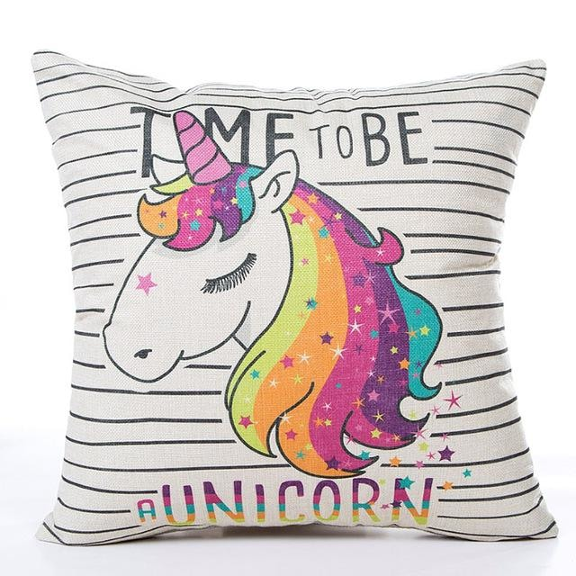 Unicorn Pillow Case - Time to be a unicorn