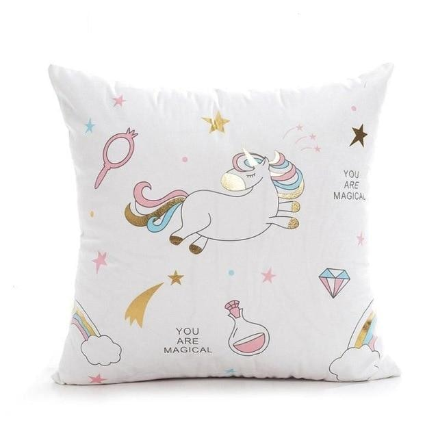 Unicorn Pillow Case - White 2
